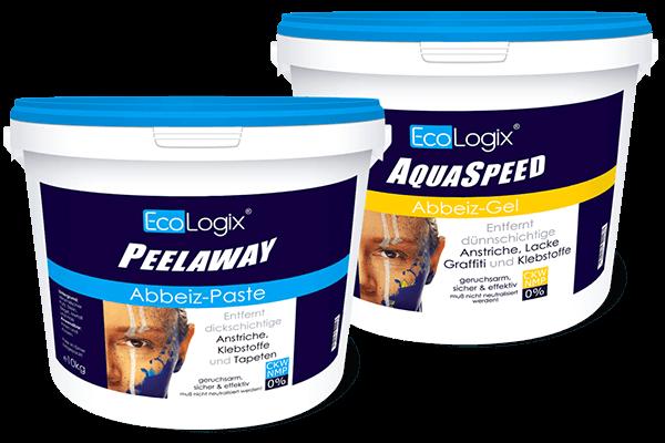 EcoLogix PeelAway und AquaSpeed